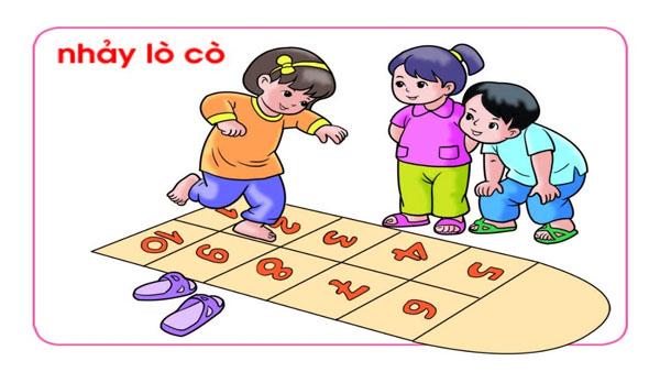 Nhảy lò cò, trò chơi dân gian được cho trẻ mầm non được yêu thích nhất