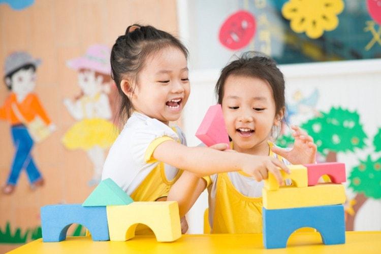 Không gian kiến trúc nội thất lớp học mẫu giáo giúp bé phát triển trí thông minh đa chiều