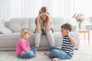 Làm sao khi thấy con cái cãi nhau