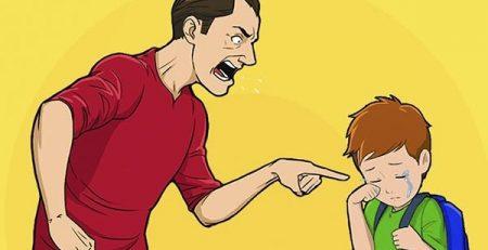 Phụ huynh nên làm gì sau khi la mắng con?