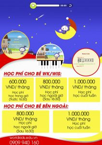 Học phí piano the one