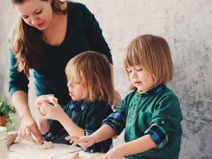 các nhóm kỹ năng cho trẻ mầm non