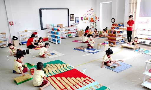 phương pháp giáo dục trẻ mầm non montessori