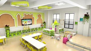 tiêu chuẩn thiết kế nhà trẻ