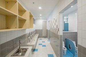 tiêu chuẩn thiết kế nhà vệ sinh trường mầm non