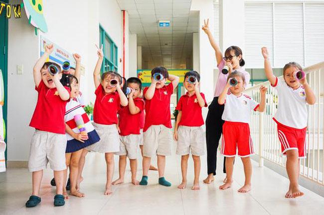 môi trường học hỏi và phát triển trường mầm non quận 7