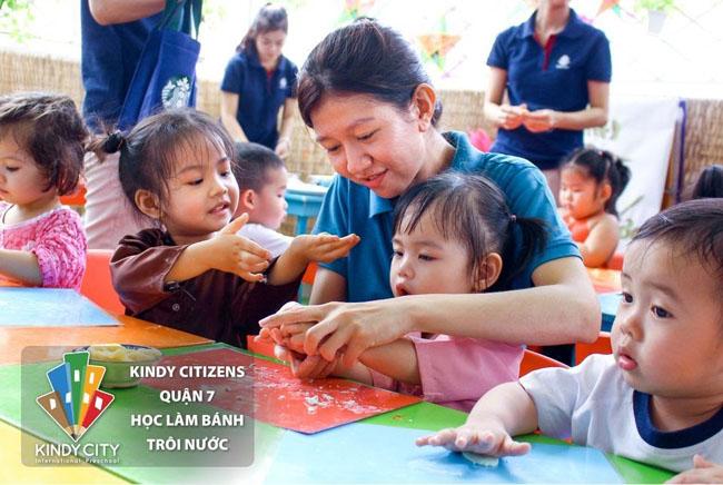 Mầm non Quốc tế Quận 7 Kindy City - Môi trường phát triển hoàn hảo cho trẻ.