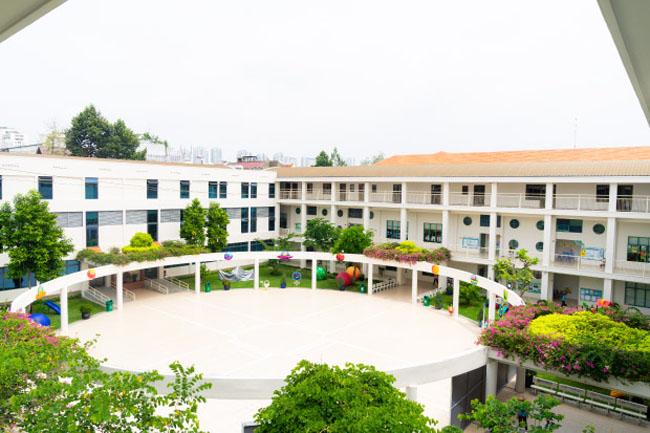 Trường mầm non song ngữ quận 7 Kinderstar