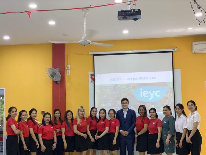 Triển Khai Chương trình IEYC tại Hệ thống Song Ngữ Quốc Tế WIS