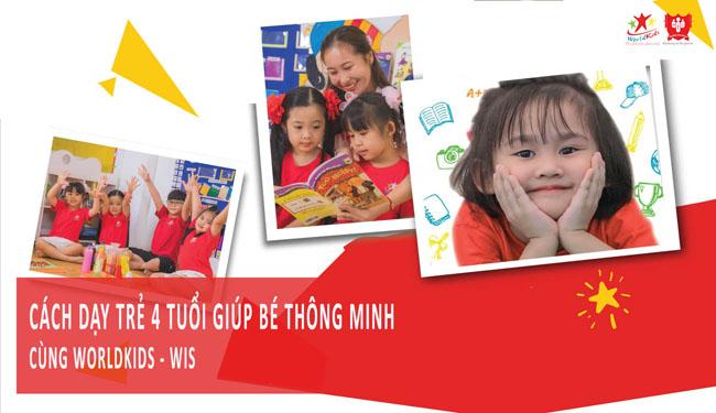 Tìm hiểu cách dạy trẻ 4 tuổi sao cho thật thông minh.