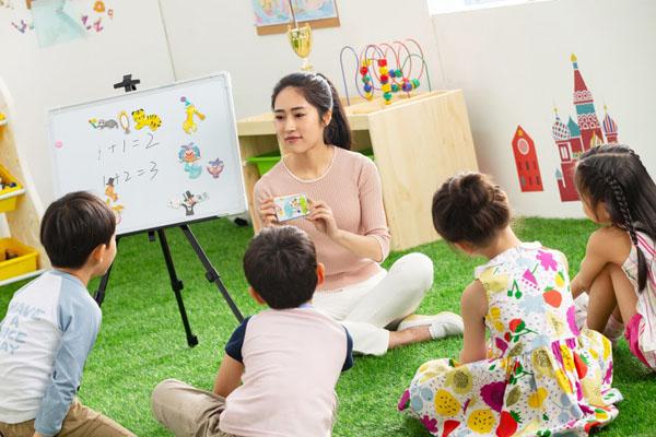 Sử dụng hình ảnh dạy tiếng Anh cho bé 2 tuổi giúp trẻ hứng thú và ghi nhớ tốt hơn.