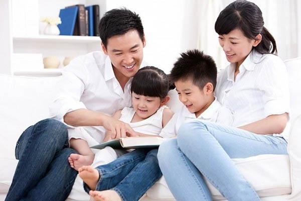 đọc sách ảnh tiếng anh với con