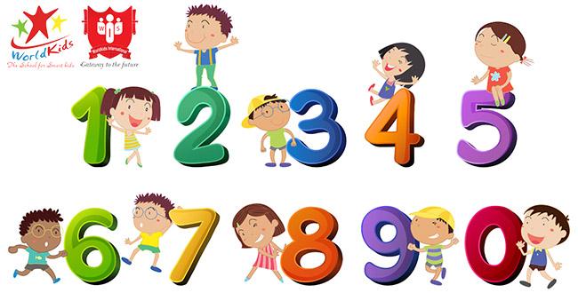học tiếng anh cho bé 5 tuổi chủ đề số đếm