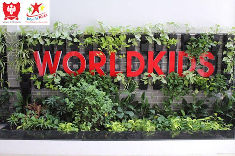 Hệ thống trường mầm non Quốc tế Worldkids có các lớp ngoại khoá cho trẻ.