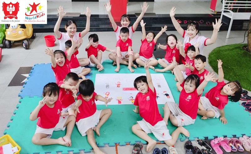 Lớp ngoại khóa cho trẻ em kích thích khả năng nghệ thuật sáng tạo