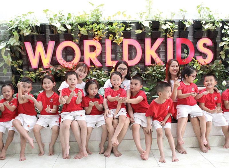 Môi trường dạy tiếng anh hiệu quả tại Worldkids với chương trình song ngữ WIS