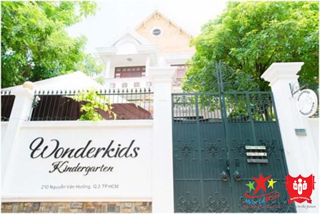Nursery School WonderKids Kindergarten là trường dạy Montessori tại Quận 2