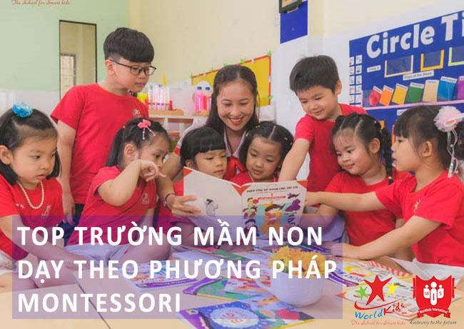 Top những trường mầm non dạy theo phương pháp Montessori chất lượng cao
