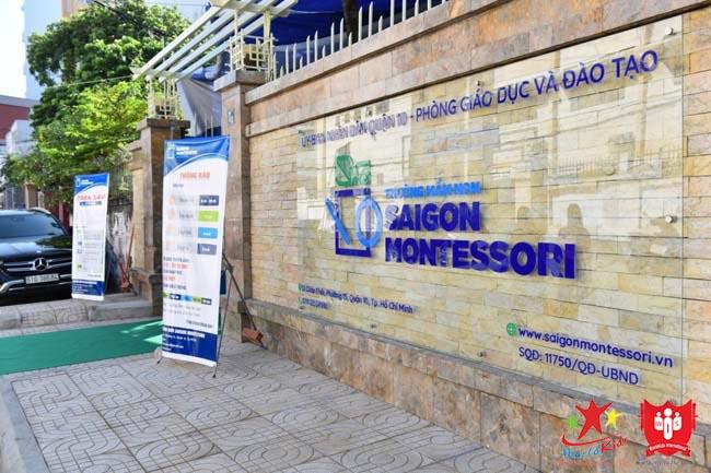 Trường học Montessori Sài Gòn Montessori là địa chỉ uy tín tại TPHCM
