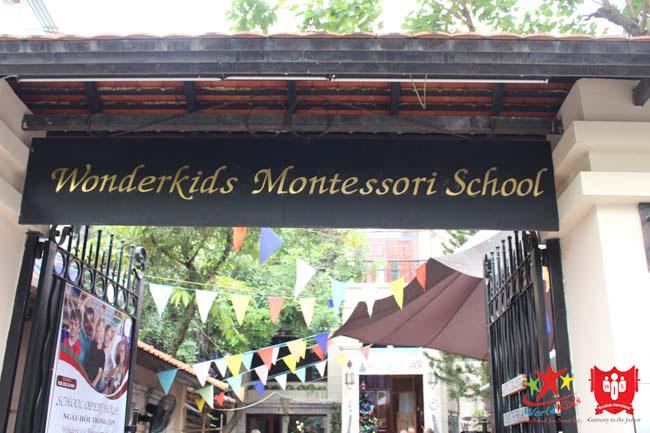 trường mầm non montessori tphcm WonderKids Montessori