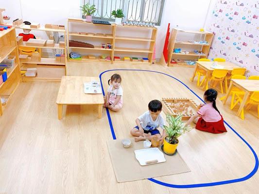trường mầm non montessori tphcm Mẫu giáo Sài Gòn Montessori