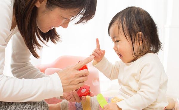 cách dạy trẻ 5 tháng tuổi