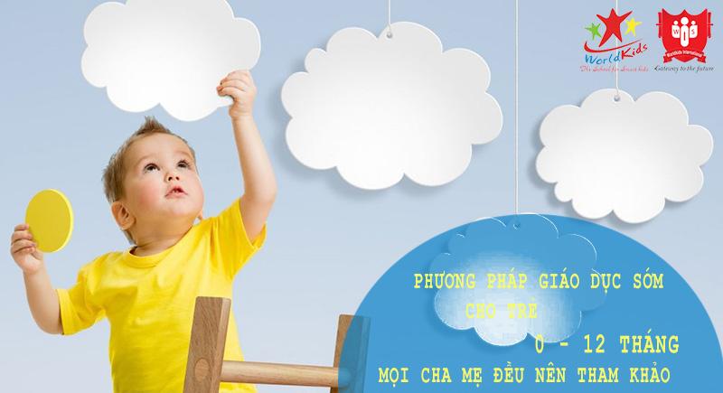 giáo dục sớm cho trẻ 0 -12 tháng