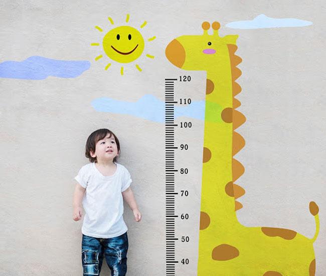 Chiều cao - cân nặng là yếu tố quan trọng cho sự phát triển của trẻ em