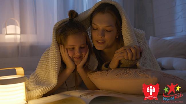 dạy trẻ học tiếng anh bằng cách đọc sách trước khi ngủ