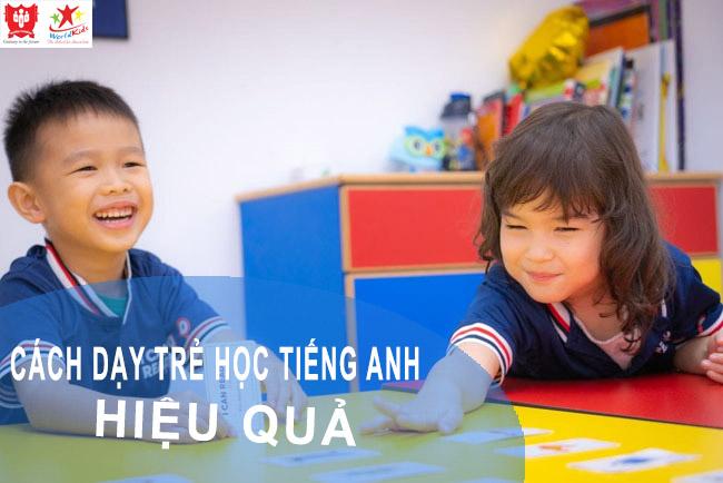 Độ tuổi nào thích hợp áp dụng các cách dạy trẻ học tiếng Anh đạt hiệu quả cao nhất?