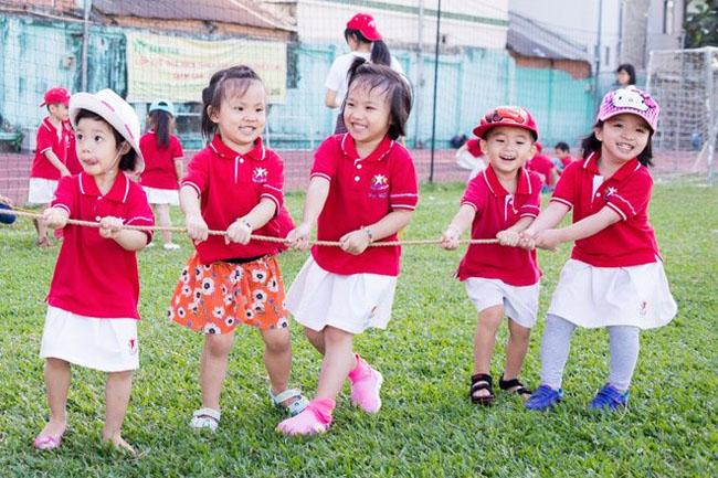 Giáo dục thể chất giúp bé học hỏi thêm nhiều kỹ năng mới