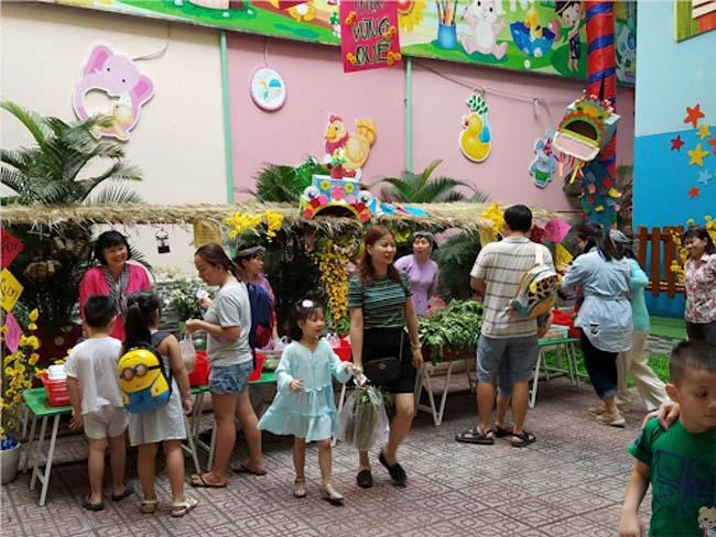 Lễ hội mùa xuân tổ chức tại trường mầm non quận 1 Tuổi Thơ