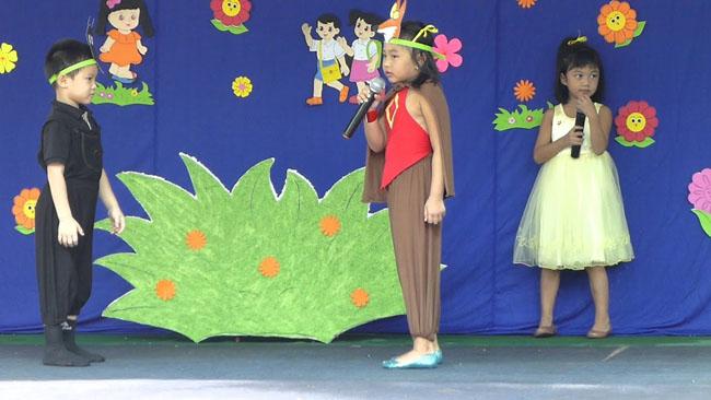 Nhập vai diễn kịch giúp trẻ tự tin hơn khi đứng trước đám đông