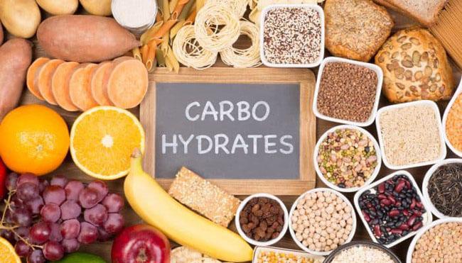 Các thực phẩm chứa nhiều carbohydrate.