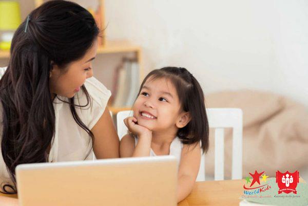 cách dạy trẻ học tiếng anh trong phương pháp Parenting.