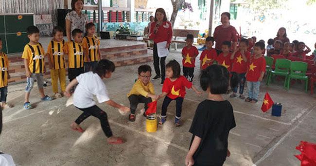 Cướp cờ giúp trẻ nhanh nhẹn, linh hoạt xử lý tình huống hơn
