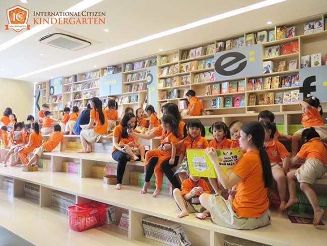 Các bé theo học tại Trường mầm non quốc tế tại Quận 1 ICK