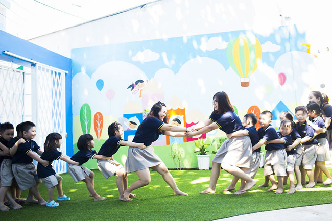 trường mầm non song ngữ tphcm angelkids