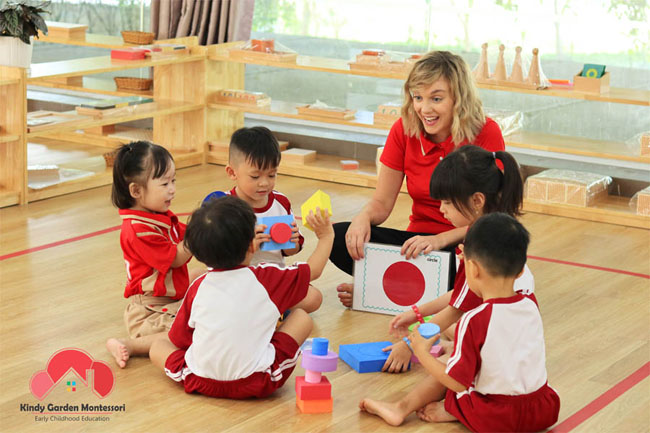 Trường mầm non song ngữ quốc tế Kindy Garden Montessori