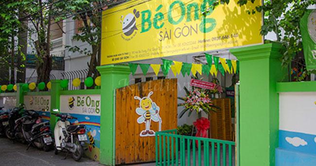 Trường mầm non Song ngữ Bé Ong Sài Gòn tại Quận 2 TPHCM