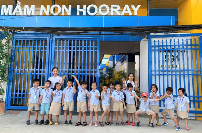 trường mầm non song ngữ tphcm hooray