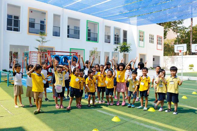 Trường mầm non song ngữ Sunrise Montessori