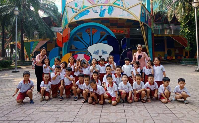 Trường Mầm non tại Tân Định, Quận 1 - Mầm non Hoa Quỳnh