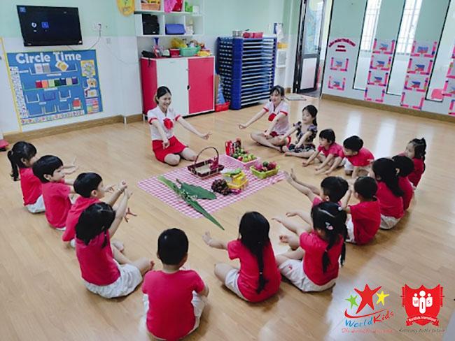 chương trình học trường mầm non quốc tế
