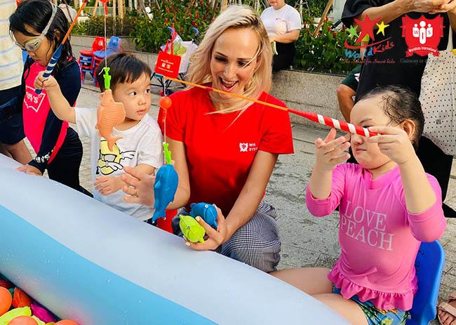 Hoạt động ngoại khóa tại trương mầ non quốc tế cho trẻ có thêm nhiều trải nghiệm từ sớm