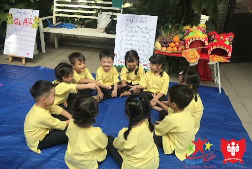 Hoạt động đội nhóm giúp bé phát triển khả năng giao tiếp và ứng xử