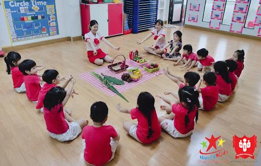 môi trường lớp học montessori