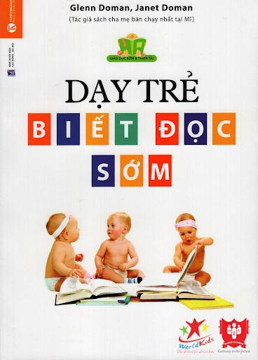 sách phương pháp giáo dục dạy trẻ biết đọc sớm glenn doman