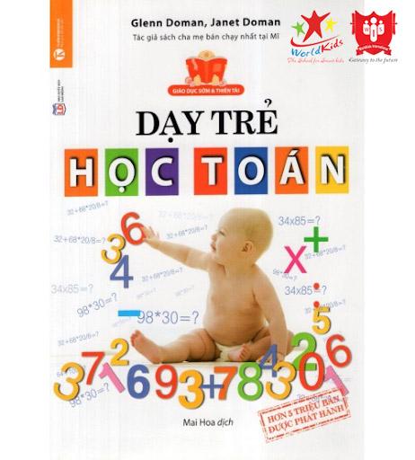 sách phương pháp giáo dục sớm glenn doman dạy trẻ học toán