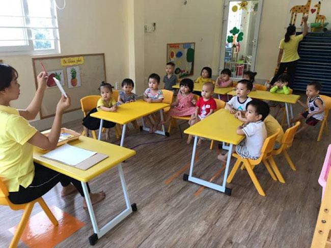 trường cho bé 6 tháng tuổi Lemon Kindergarten